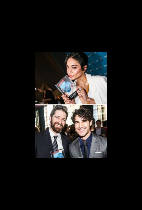 OP - The Broadway.com Audience Choice Awards - wide - Vanessa Hudgens - Darren Criss - Matthew Morrison