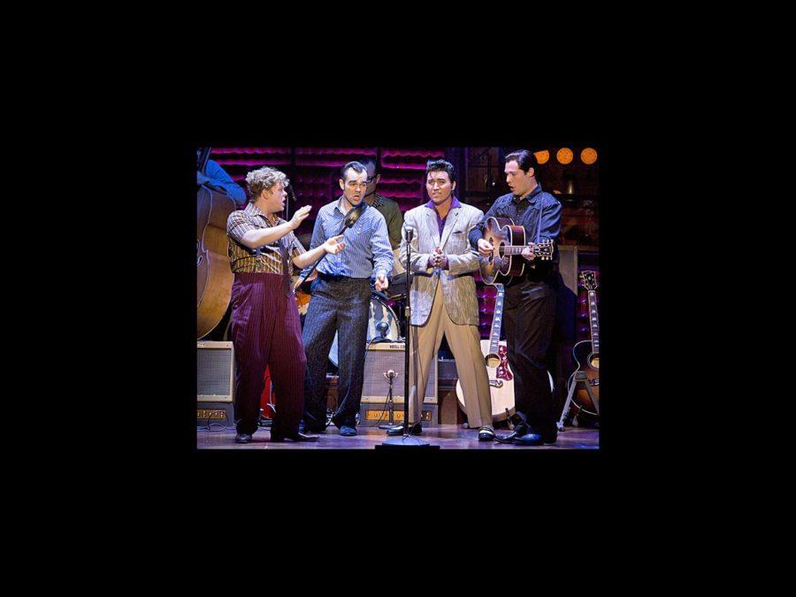 PS - Million Dollar Quartet - tour - John Countryman - James Barry - Tyler Hunter - Scott Moreau - wide - 10/13