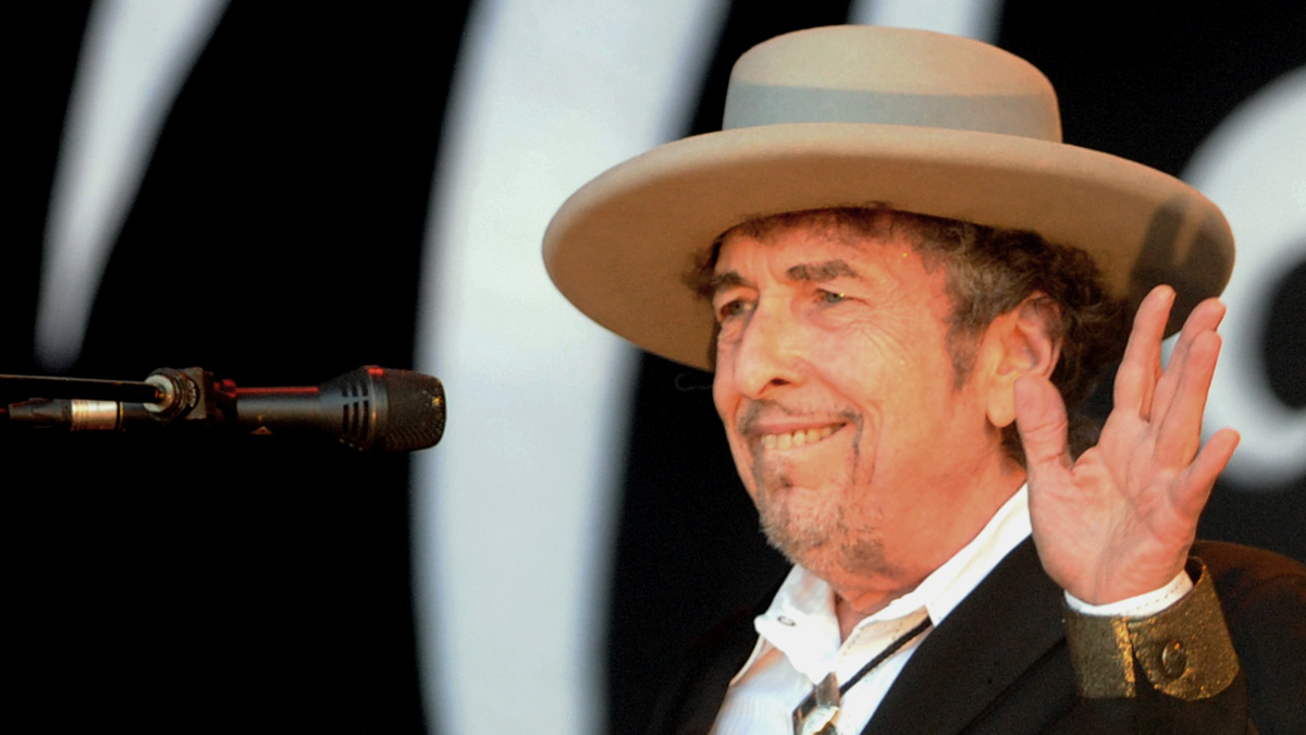 Bob Dylan - 6/20 - Fred Tanneau/AFP/GettyImages