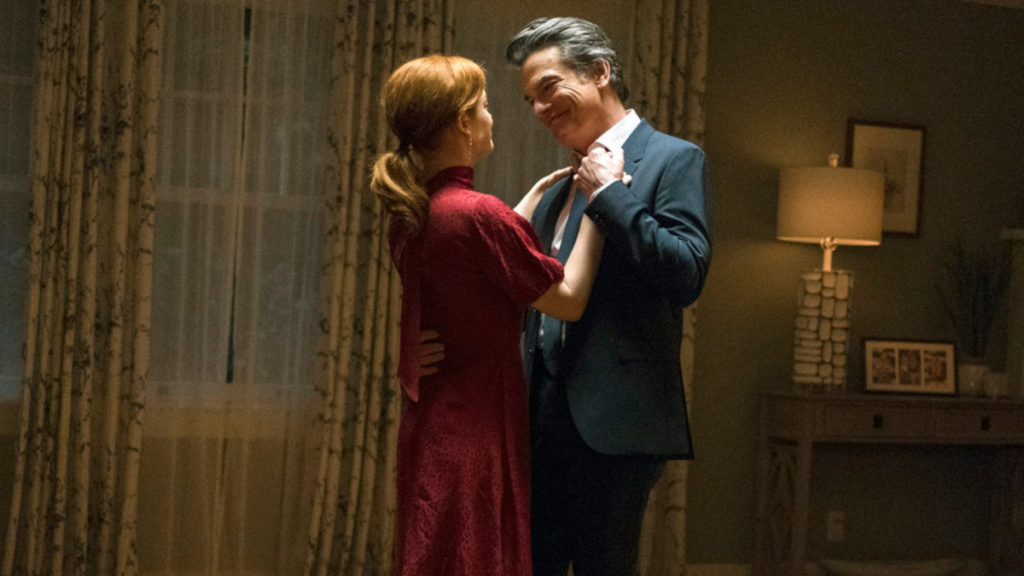 Jane Levy - Peter Gallagher - 2/21 - Zoey's Extraordinary Playlist - James Dittiger/NBC